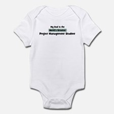 Worlds Greatest Project Manag Infant Bodysuit