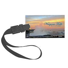 Niagara Falls Sunset Luggage Tag