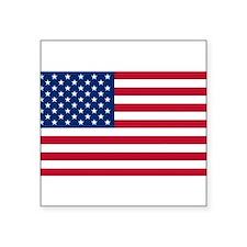 """Cute America Square Sticker 3"""" x 3"""""""