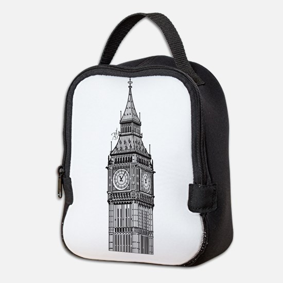 bigbenlondon.png Neoprene Lunch Bag