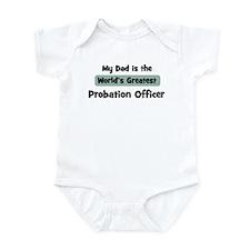 Worlds Greatest Probation Off Infant Bodysuit
