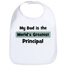 Worlds Greatest Principal Bib
