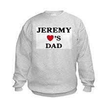 Jeremy loves dad Sweatshirt