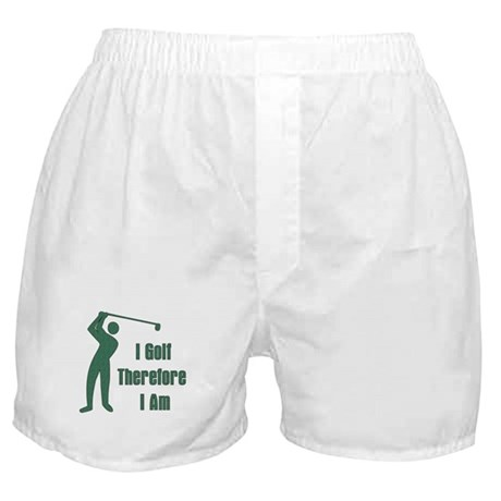 Gift for Golfing Dad Boxer Shorts