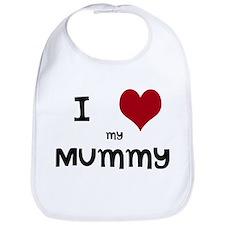I Love My Mummy Bib