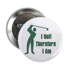 "Gift for Golfing Dad 2.25"" Button"