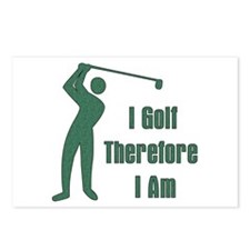 Gift for Golfing Dad Postcards (Package of 8)