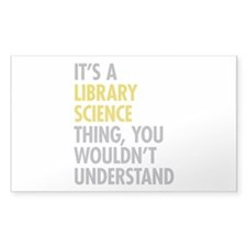 Library Science Thing Decal