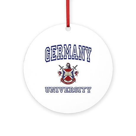 GERMANY University Ornament (Round)