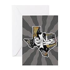 Texas Guitar #2 Greeting Card