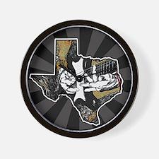 Texas Guitar #2 Wall Clock