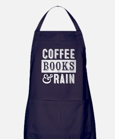 Coffee Books and Rain Apron (dark)