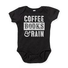 Coffee Books and Rain Baby Bodysuit