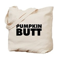 Pumpkin Butt Tote Bag