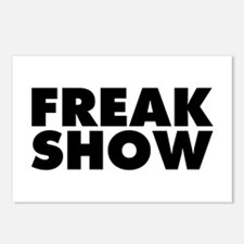 Freak Show Postcards (Package of 8)
