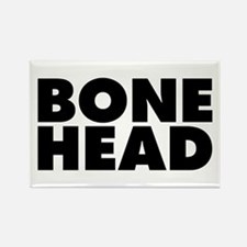 Bonehead Rectangle Magnet