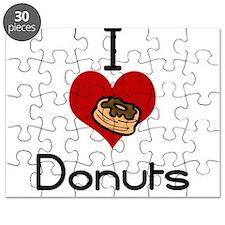 I love-heart donuts Puzzle