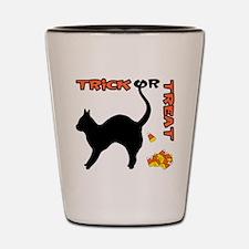 Trick or Treat Shot Glass