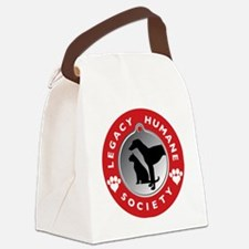 LHS Red  Canvas Lunch Bag