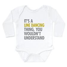 Line Dancing Thing Long Sleeve Infant Bodysuit