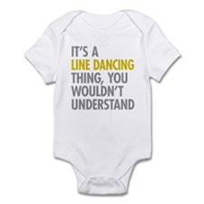 Line Dancing Thing Infant Bodysuit