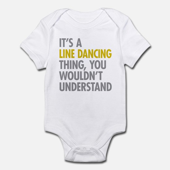 Line Dancing Thing Infant Bodysuit