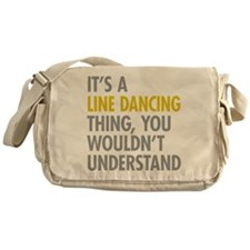 Line Dancing Thing Messenger Bag