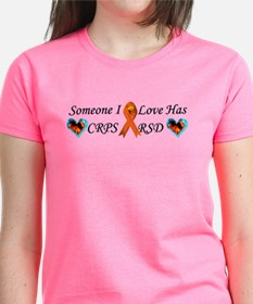Someone I Love Has CRPS RSD Ribbon 3 x10 C T-Shirt