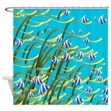 Underwater life Shower Curtain