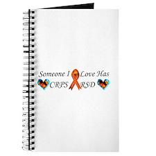 Someone I Love Has CRPS RSD Ribbon 3 x10 C Journal