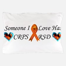Someone I Love Has CRPS RSD Ribbon 3 x Pillow Case