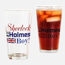 My Holmes Boy Drinking Glass