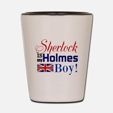 My Holmes Boy Shot Glass