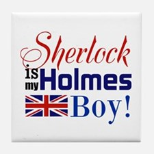 My Holmes Boy Tile Coaster