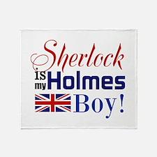 My Holmes Boy Throw Blanket