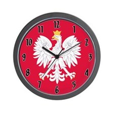 Poland Coat of Arms Wall Clock