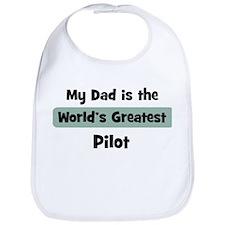 Worlds Greatest Pilot Bib