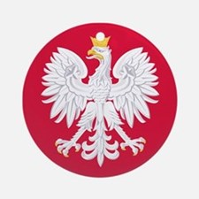 Poland Coat of Arms Ornament (Round)