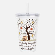 Funny Family Tree Sayi Acrylic Double-wall Tumbler