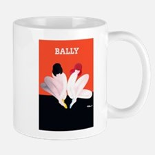 Bally Vintage Fashion Poster Mugs