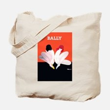Bally Vintage Fashion Poster Tote Bag