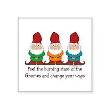 Burning Stare of The Gnome Sticker