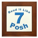 Be Posh with this Framed Tile