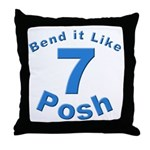 Be Posh with this Throw Pillow