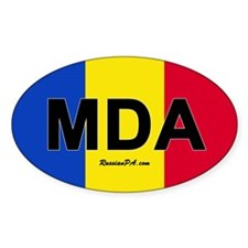 Moldova car bumper sticker