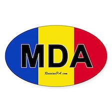Moldova car bumper sticker