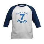 Be Posh with this Kids Baseball Jersey