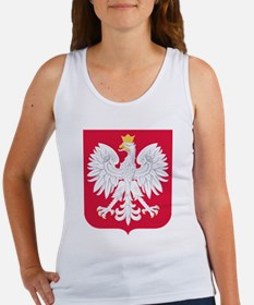 Poland Coat of Arms Tank Top