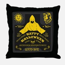 Ouija Board - Halloween Edition Throw Pillow
