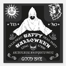 Ouija Board - Halloween Edition Square Car Magnet